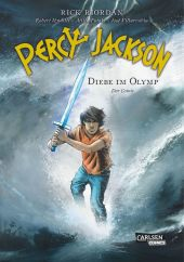 Percy Jackson (Der Comic) - Diebe im Olymp Cover