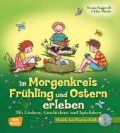 Im Morgenkreis Frühling und Ostern erleben, m. Audio-CD Cover