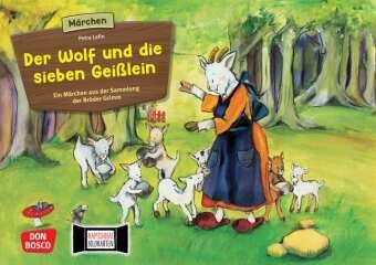 Bildkarten für unser Erzähltheater: Der Wolf und die 7 Geißlein