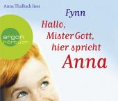 Hallo, Mister Gott, hier spricht Anna, 4 Audio-CDs Cover