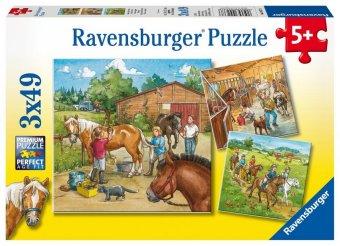 Mein Reiterhof (Kinderpuzzle)