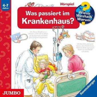 Was passiert im Krankenhaus?, Audio-CD