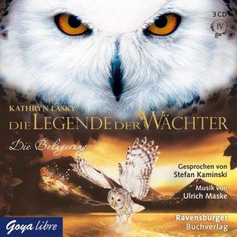 Die Legende der Wächter - Die Belagerung, 3 Audio-CDs
