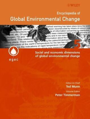 Social and Economic Dimensions of Global Environmental Change