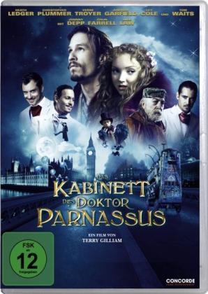 Das Kabinett des Doktor Parnassus, 1 DVD