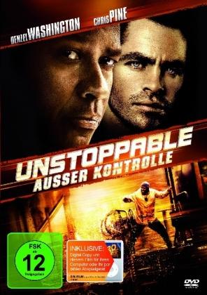 Unstoppable - Außer Kontrolle, 1 DVD + Digital Copy
