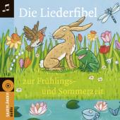 Die Liederfibel zur Frühlings- und Sommerzeit, 1 Audio-CD Cover