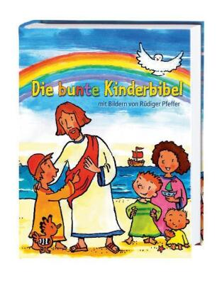 Cover des Mediums: Die bunte Kinderbibel