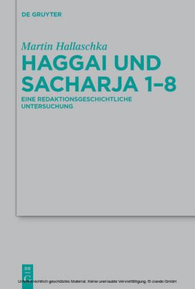 Haggai und Sacharja 1-8