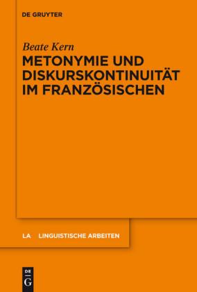 Metonymie und Diskurskontinuität im Französischen