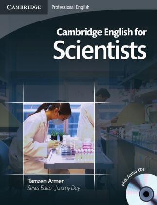 Cambridge English for Scientists, Student's Book + 2 Audio-CDs