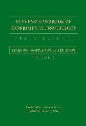 Stevens' Handbook of Experimental Psychology