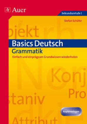 Basics Deutsch, Grammatik