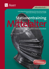 Stationentraining Mittelalter Cover