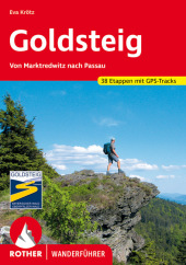 Rother Wanderführer Goldsteig Cover