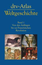 dtv-Atlas Weltgeschichte Cover