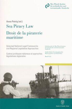 Sea Piracy Law / Droit de la piraterie maritime.