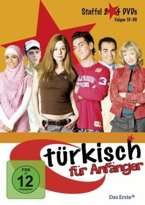 Staffel 2, 4 DVDs
