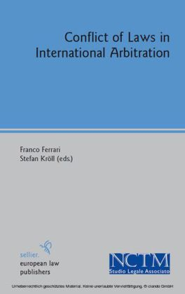 Conflict of Laws in International Arbitration