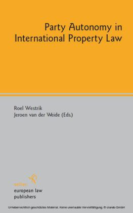 Party Autonomy in International Property Law
