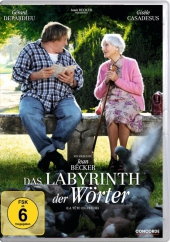 Das Labyrinth der Wörter, 1 DVD Cover