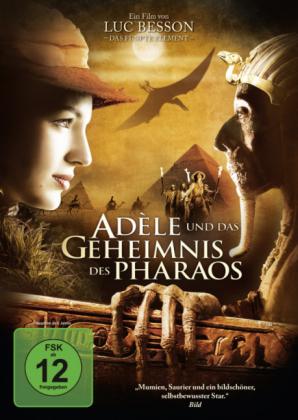 Adele und das Geheimnis des Pharaos, 1 DVD