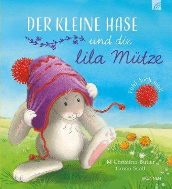 Der kleine Hase und die lila Mütze