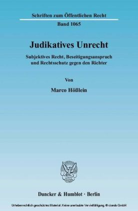 Judikatives Unrecht