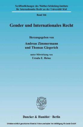 Gender und Internationales Recht.