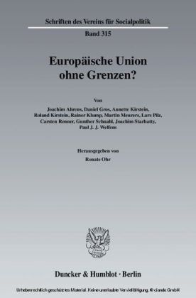 Europäische Union ohne Grenzen?