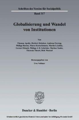 Globalisierung und Wandel von Institutionen