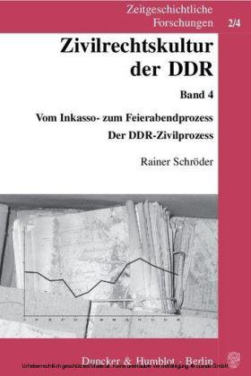 Zivilrechtskultur der DDR.