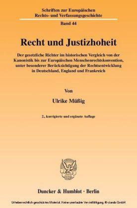 Recht und Justizhoheit