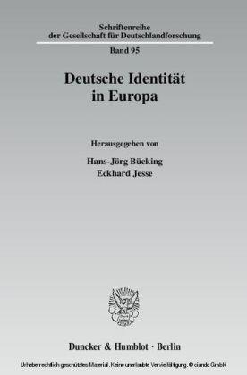 Deutsche Identität in Europa