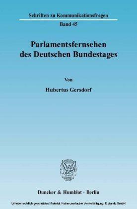 Parlamentsfernsehen des Deutschen Bundestages
