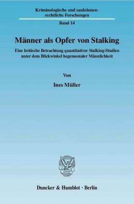 Männer als Opfer von Stalking