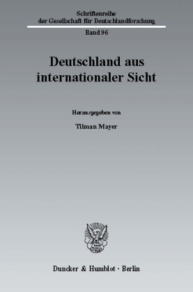 Deutschland aus internationaler Sicht