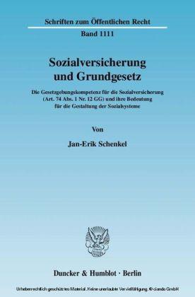 Sozialversicherung und Grundgesetz