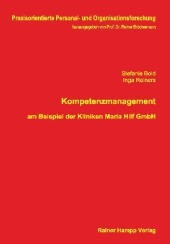 Kompetenzmanagement am Beispiel der Kliniken Maria Hilf GmbH