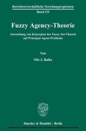Fuzzy Agency-Theorie.