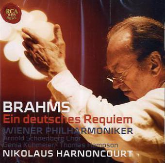 Ein deutsches Requiem, 1 Audio-CD
