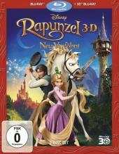 Rapunzel - Neu verföhnt 3D, 1 Blu-ray