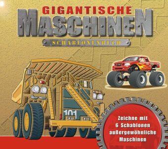Gigantische Maschinen Schablonenbuch