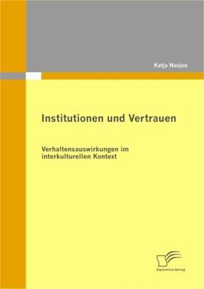 Institutionen und Vertrauen