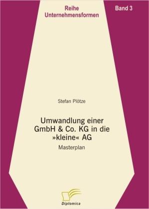 Umwandlung einer GmbH & Co. KG in die kleine AG