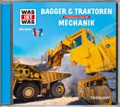 Bagger und Traktoren / Mechanik, 1 Audio-CD