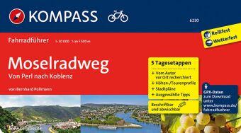 Kompass Fahrradführer Moselradweg, Von Perl bis Koblenz