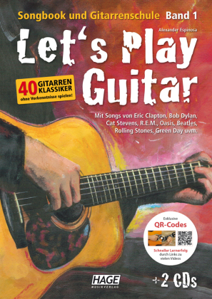 Let's Play Guitar, m. DVD u. 2 Audio-CDs