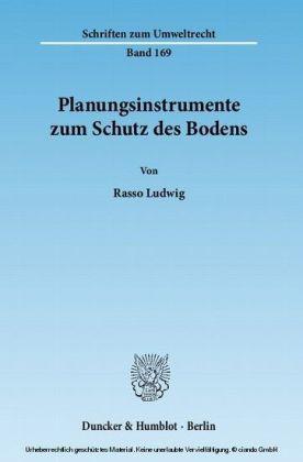 Planungsinstrumente zum Schutz des Bodens
