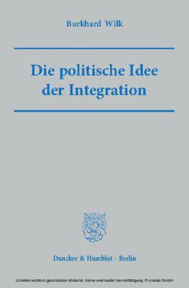 Die politische Idee der Integration